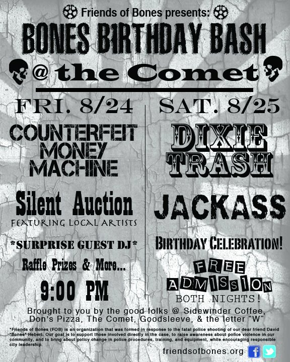Bones Birthday Bash 2012